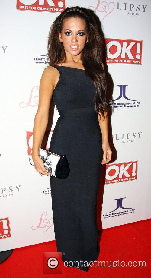 Bianca Gascoigne,  OK Magazine Editorial Christmas Party...