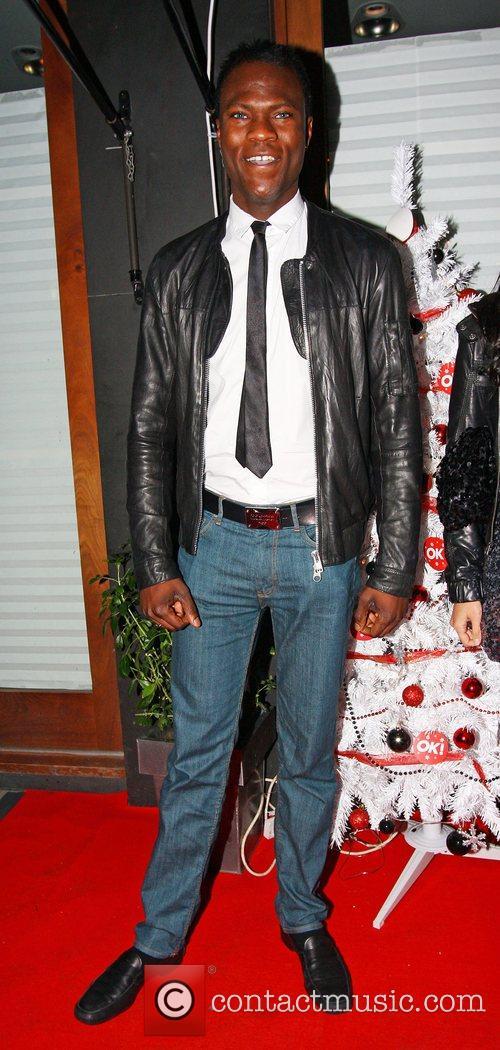 Brian Bello,  OK Magazine Editorial Christmas Party...