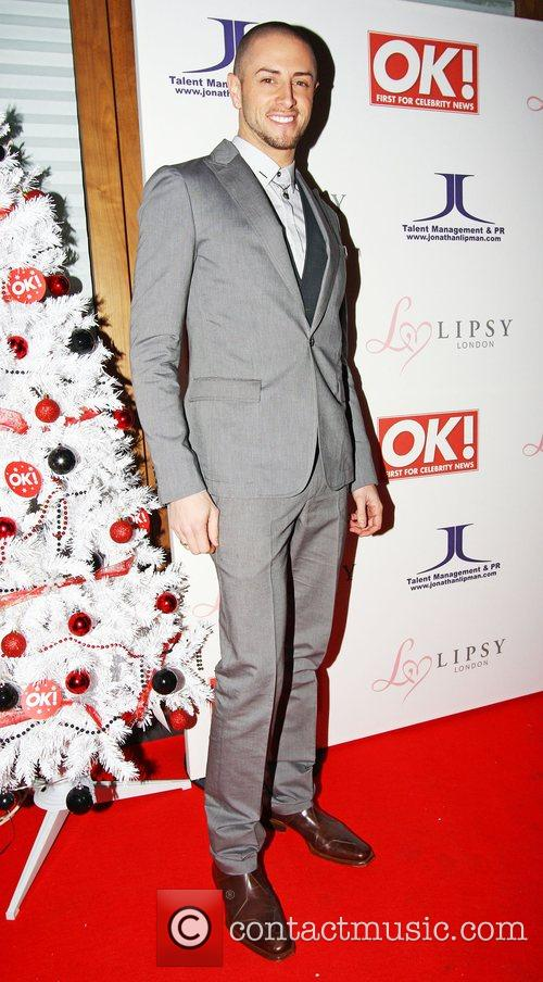 Brian Friedman,  OK Magazine Editorial Christmas Party...