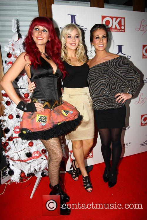 Guests,  OK Magazine Editorial Christmas Party held...