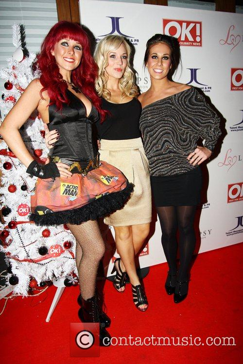 OK Magazine Editorial Christmas Party held at The...