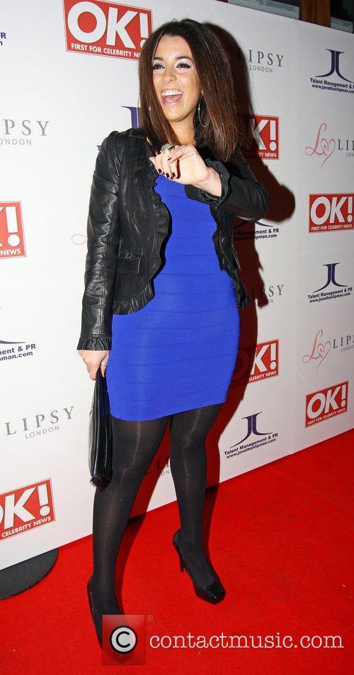 Ruth Lorenzo,  OK Magazine Editorial Christmas Party...