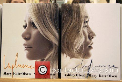 'influence' Book and Olsen Twins