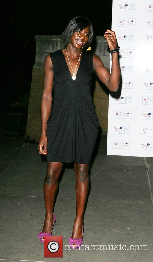 Christine Ohuruogu The Olympic Gold Ball held at...