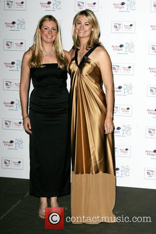 Sarah Webb and Guest The Olympic Gold Ball...