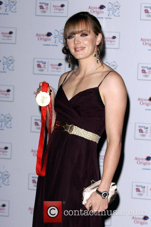 Victoria Pendleton The Olympic Gold Ball held at...