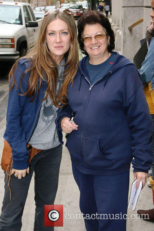 BethAnn Bonner and fan Linda Cast of ABC's...