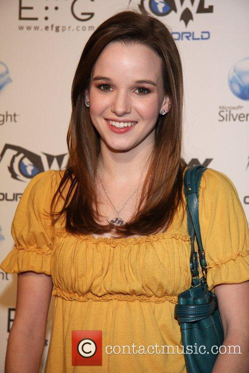 Kay Panabaker 'Our World Live' presented by Snoop...