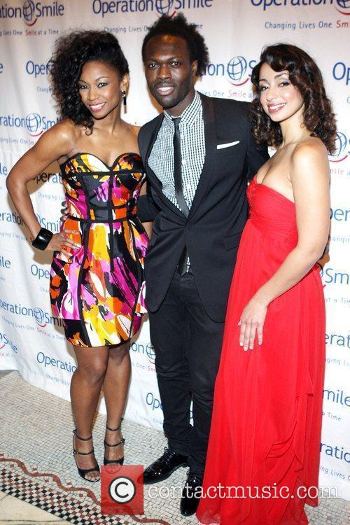 D. Woods, Jermaine Brown and Mya The Junior...