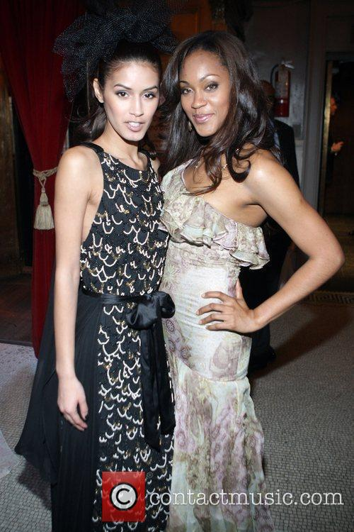 Jaslene Gonzalez and Shontelle The Junior Smile Couture...