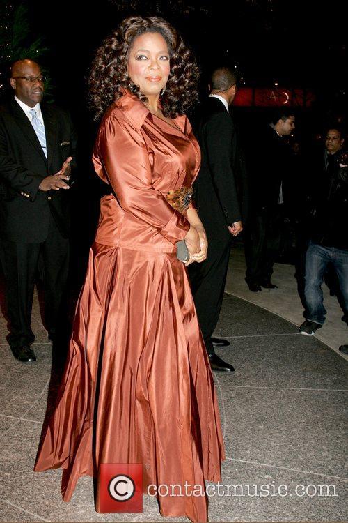 Oprah Winfrey leaving her Manhattan hotel  New...
