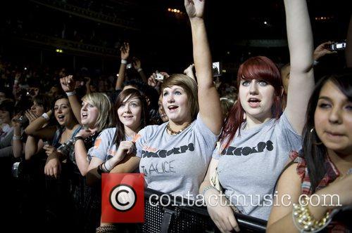 Orange RockCorps held at the Royal Albert hall...