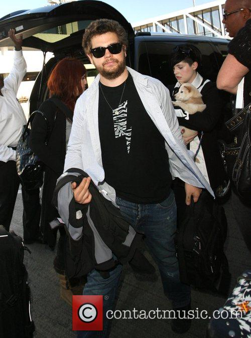 Jack Osbourne and Kelly Osbourne  arrive at...