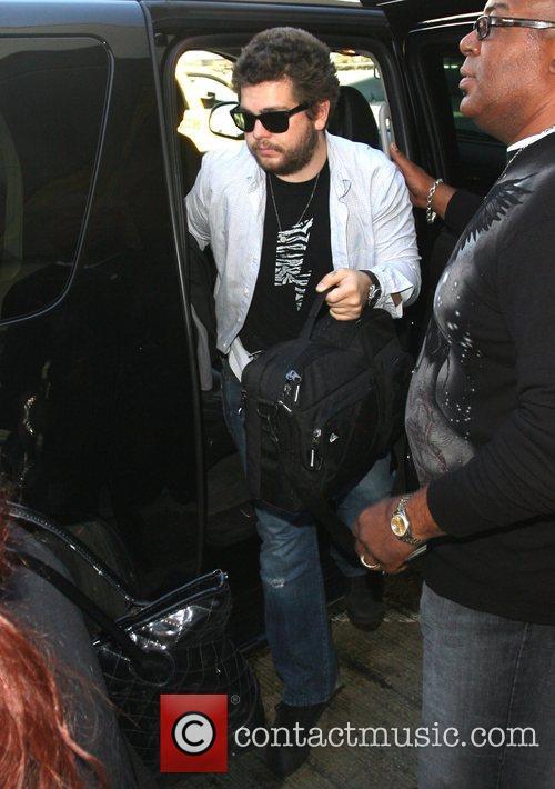 Jack Osbourne arrives at LAX airport Los Angeles,...