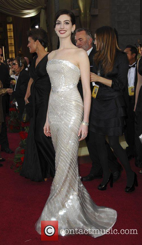 Anne Hathaway and Academy Of Motion Pictures And Sciences 6