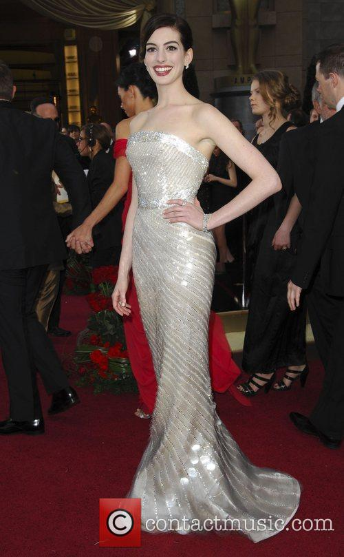 Anne Hathaway and Academy Of Motion Pictures And Sciences 2