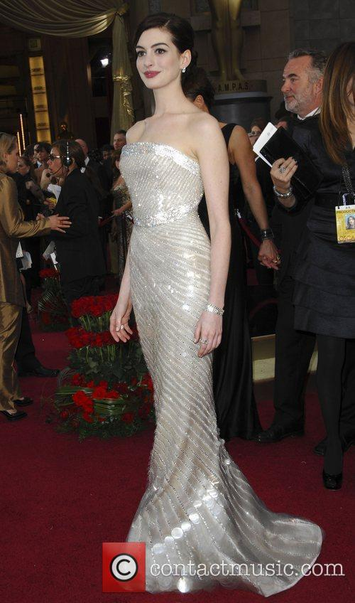 Anne Hathaway and Academy Of Motion Pictures And Sciences 5