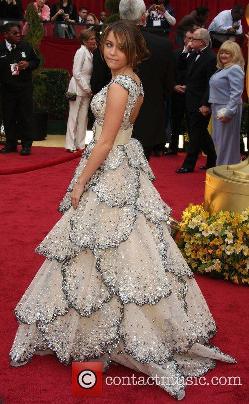 Miley Cyrus, Academy Of Motion Pictures And Sciences and Academy Awards 2