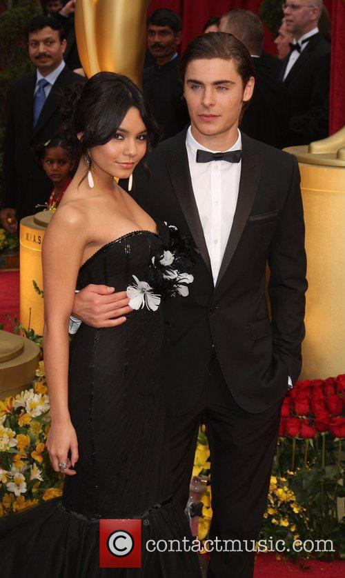 Vanessa Hudgens, Zac Efron, Academy Of Motion Pictures And Sciences and Academy Awards 2