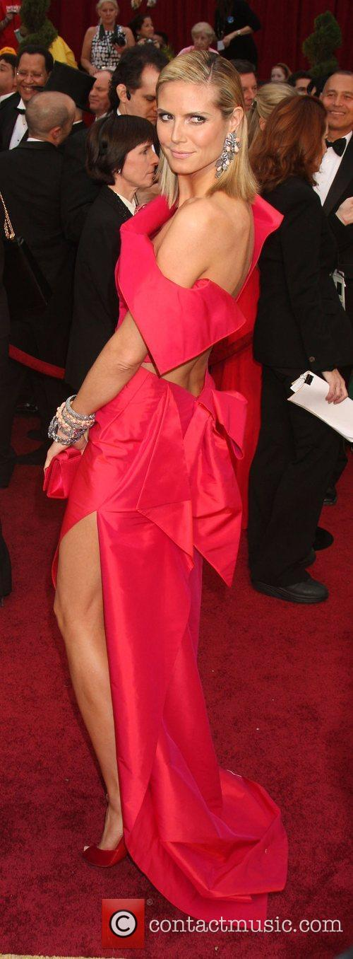 Heidi Klum, Academy Of Motion Pictures And Sciences and Academy Awards 3
