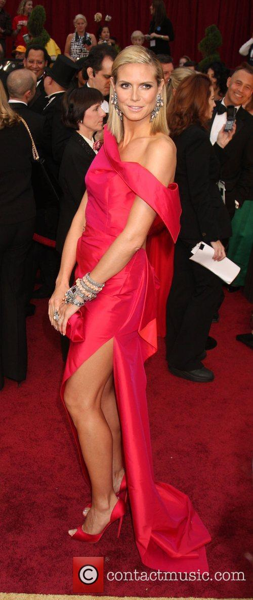 Heidi Klum, Academy Of Motion Pictures And Sciences and Academy Awards 4
