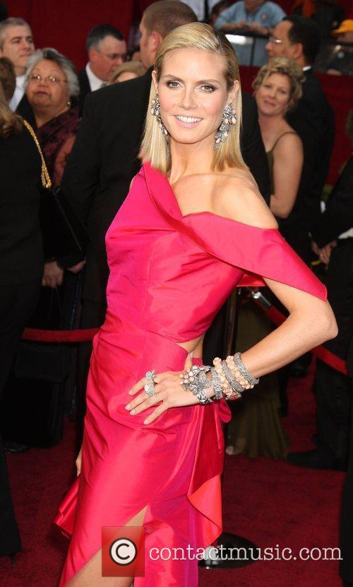 Heidi Klum, Academy Of Motion Pictures And Sciences and Academy Awards 2