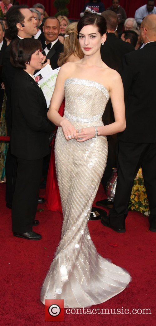Anne Hathaway and Academy Of Motion Pictures And Sciences 1