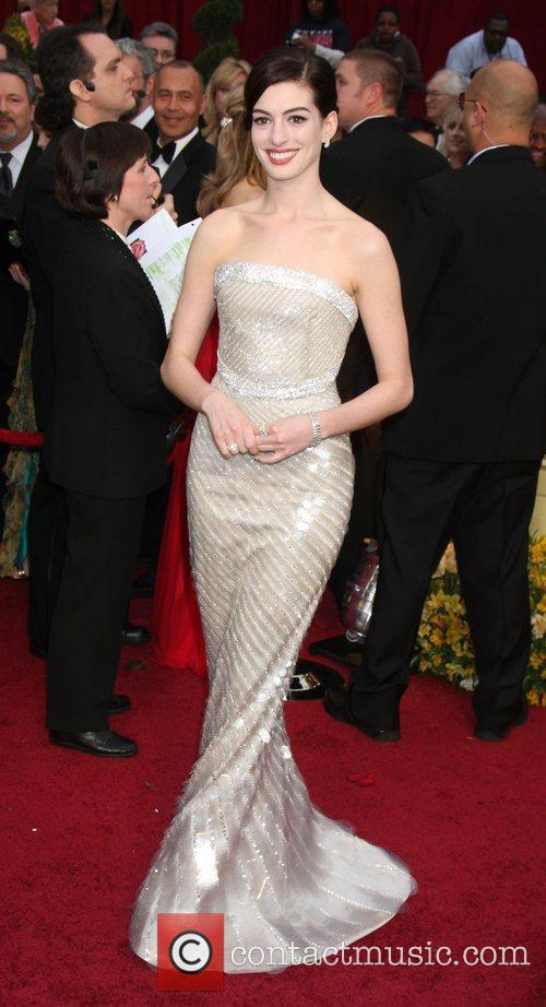 Anne Hathaway and Academy Of Motion Pictures And Sciences 7
