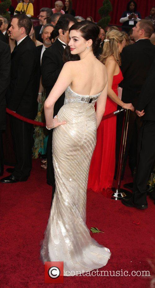 Anne Hathaway and Academy Of Motion Pictures And Sciences 9