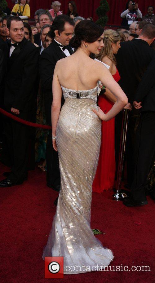 Anne Hathaway and Academy Of Motion Pictures And Sciences 8