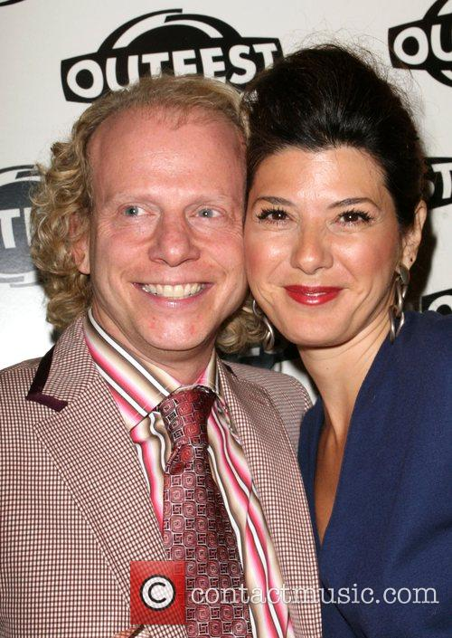 Bruce Cohen and Marisa Tomei 2