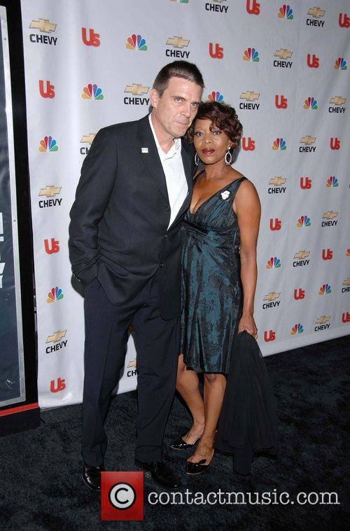 Alfre Woodard and guest Premiere of the NBC...