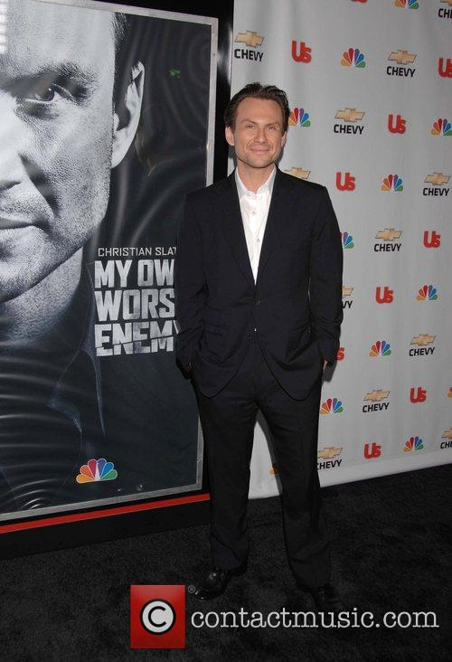 Christian Slater Premiere of the NBC show Own...