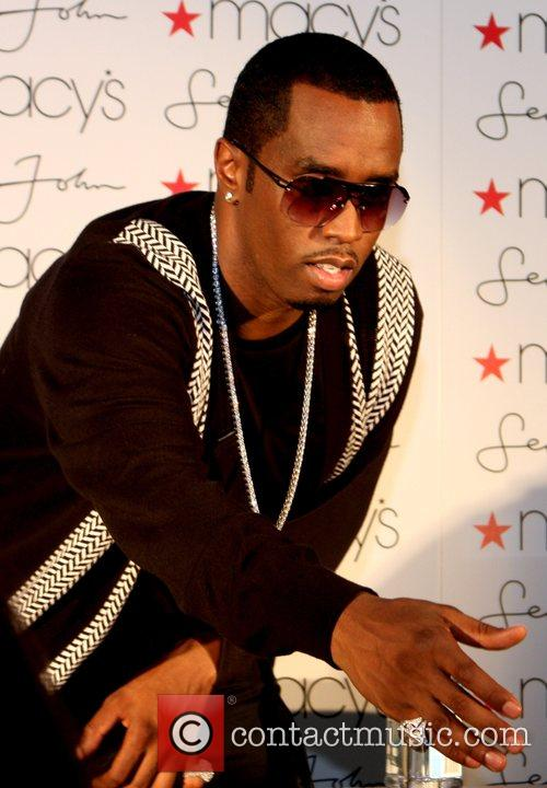 Sean Combs aka P Diddy attends Macy's in...