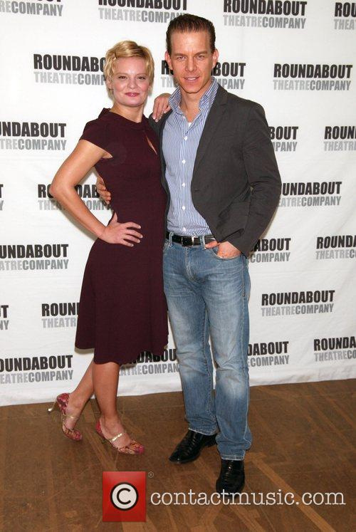Martha Plimpton and Christian Hoff