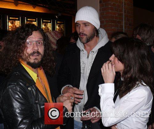 Georg Georgi, Achim Bornhak, Natalia Avelon Premiere Palermo...