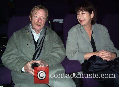 Otto Sander, wife Monika Hansen Premiere Palermo Shooting...