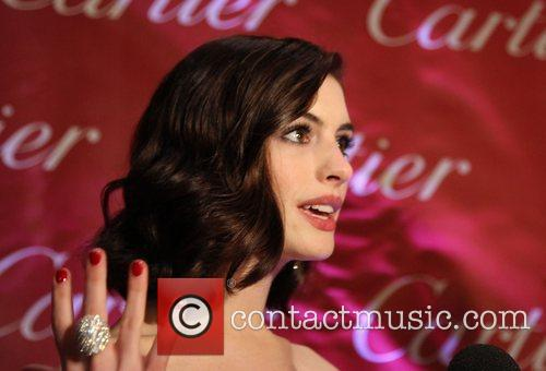 Anne Hathaway attends the 2009 Palm Springs International...
