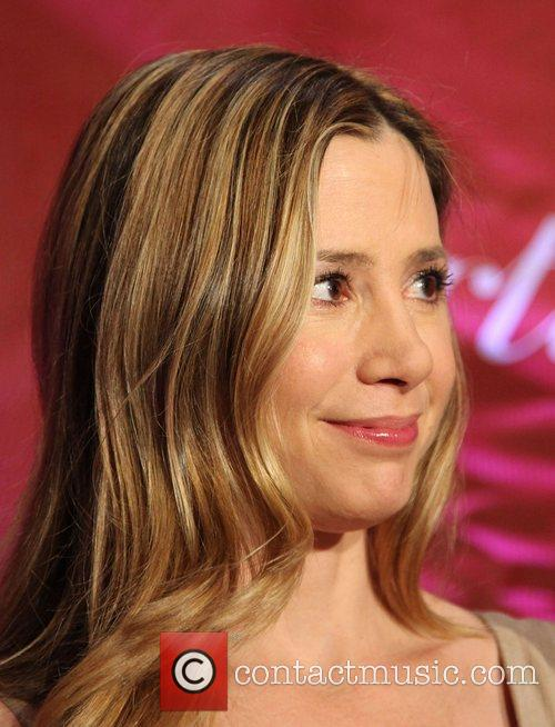 Mira Sorvino attends the 2009 Palm Springs International...