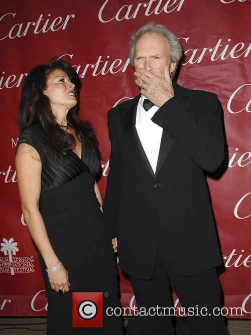 Clint Eastwood and Dina Eastwood attends the 2009...