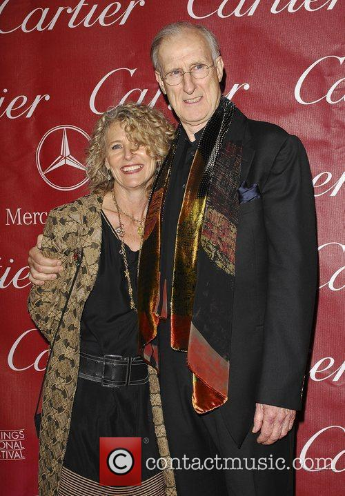 James Cromwell with his wife attends the 2009...