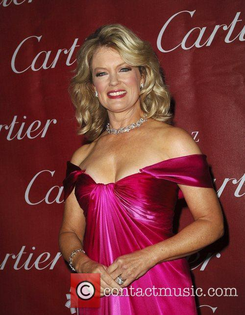 Mary Hart attends the 2009 Palm Springs International...