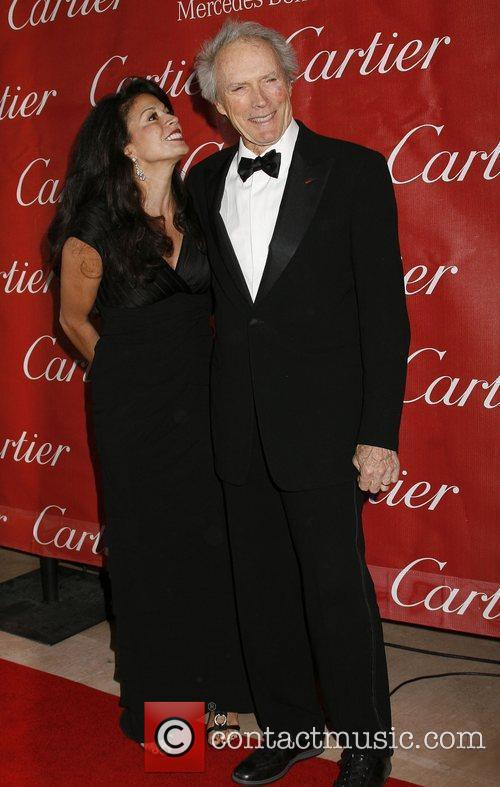Dina Eastwood and Clint Eastwood  attends the...