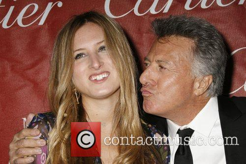 Dustin Hoffman with his daughter attends the 2009...