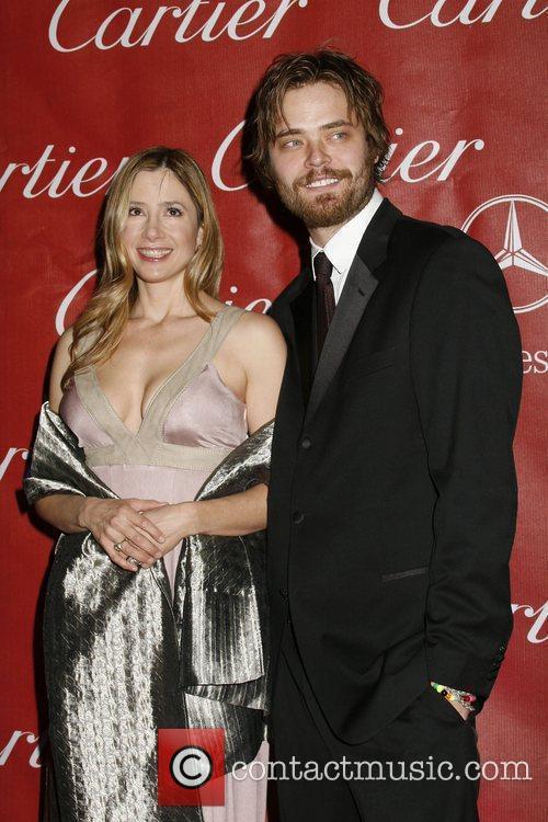 Mira Sorvino and Christopher Backus 7