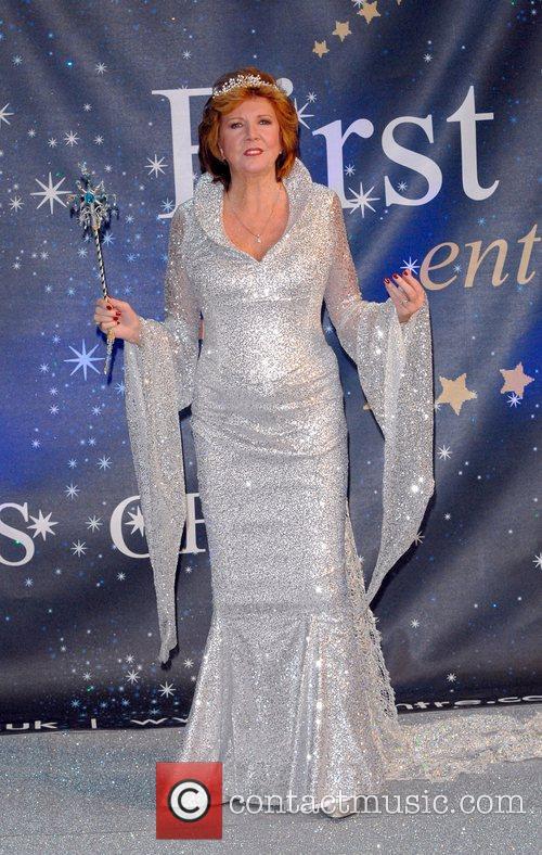Cilla Black Celebrities Promote Panto Season at the...