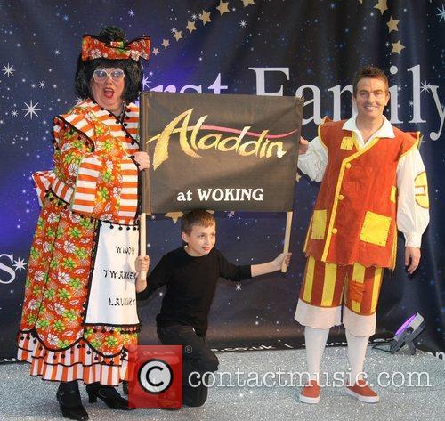 Actor, Bradley Walsh Celebrities Promote Panto Season at...