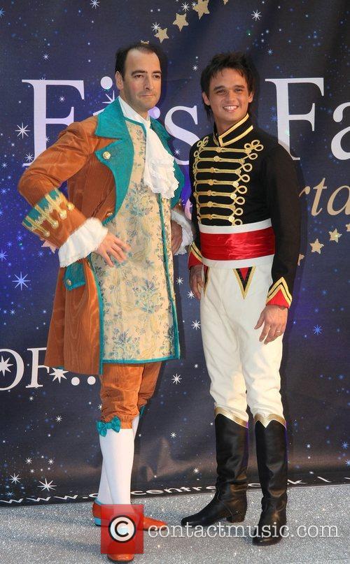 Alistair McGowan, Gareth Gates Celebrities Promote Panto Season...