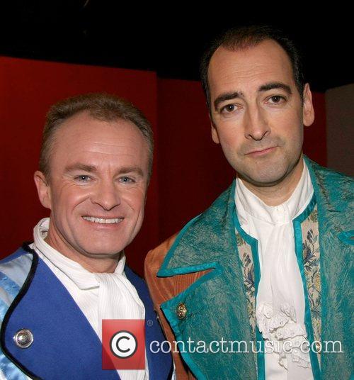 Bobby Davro, Alistair McGowan Celebrities Promote Panto Season...