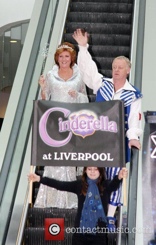 Cilla Black, Les Dennis Celebrities Promote Panto Season...